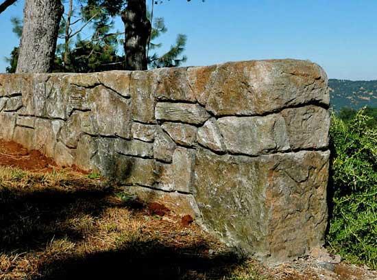 Rivestimento in pietra stata, muro stato, parete in pietra