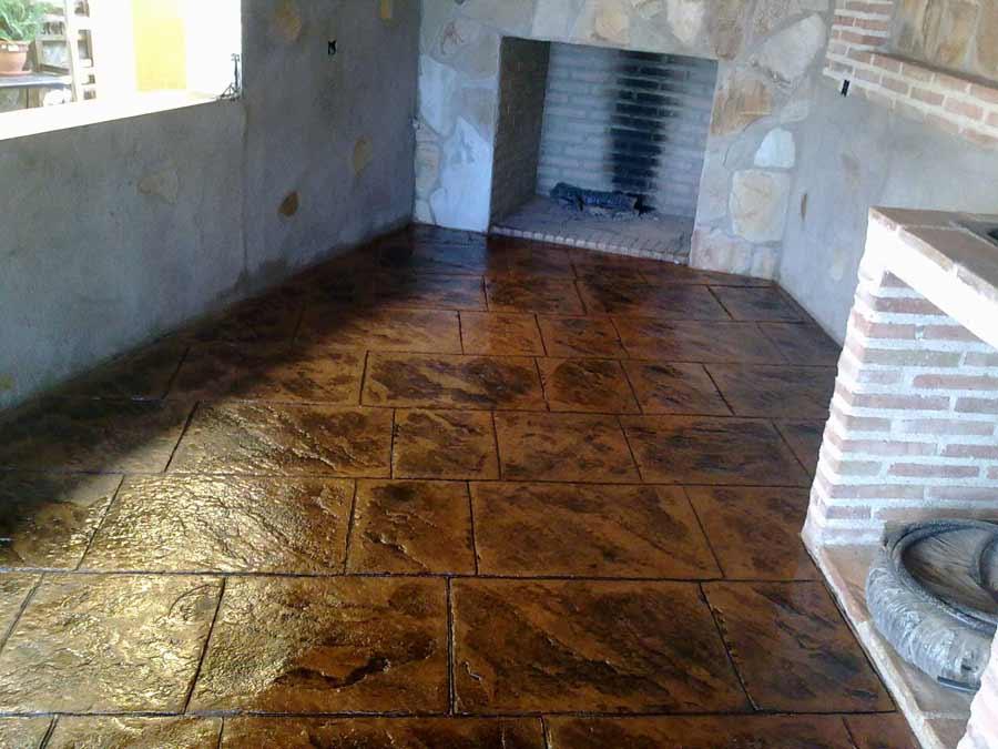 Pavimenti In Cemento Stampato : P i w pavimentazione esterna cemento stampato e cemento