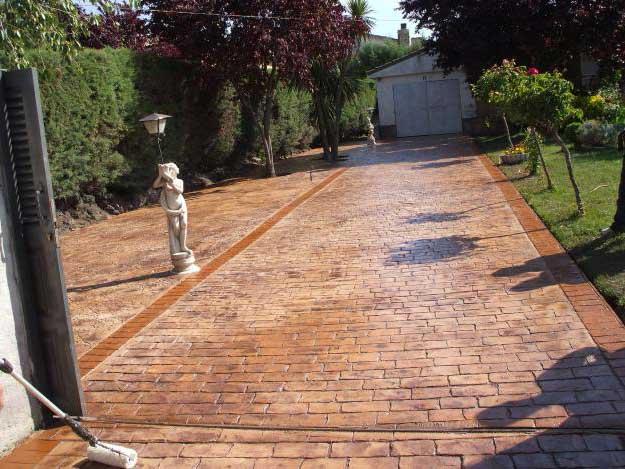 Pavimenti per esterno in cemento mattonelle in cemento per
