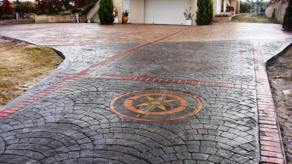 Pavimenti In Cemento Per Esterno : Index of img pavimento cemento stampato effetto pietra porfido