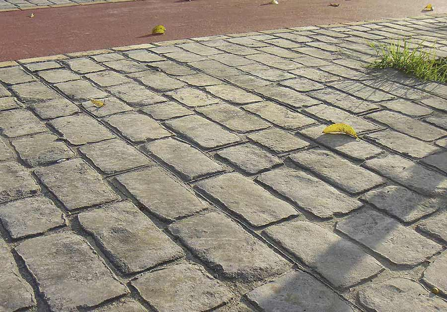 Pavimento Esterno Cemento : Index of img pavimento cemento stampato effetto pietra porfido