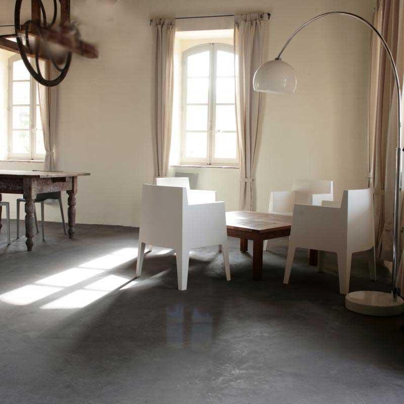 Bagno Con Pavimento Grigio Scuro ~ Ispirazione Interior Design & Idee Mobili