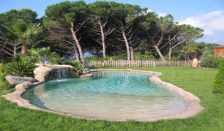 Piscine a laghetto for Acqua verde laghetto